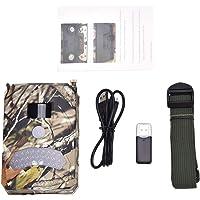 Alomejor Wildkamera Nachtsicht Videokamera Trail Camera 12MP 1080P HD Perfekt für Beobachtung Wildtieren