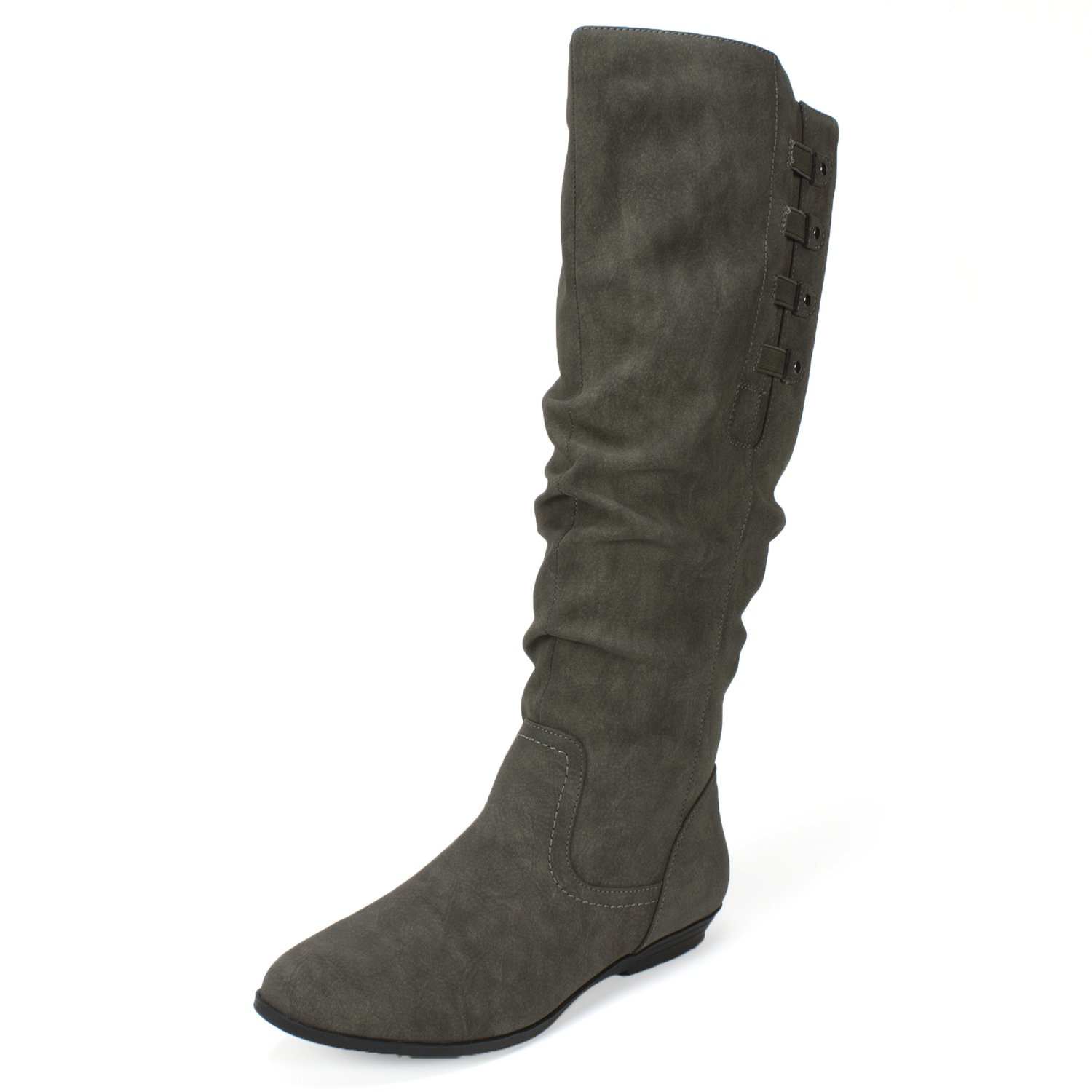 CLIFFS BY WHITE MOUNTAIN Cliffs 'Francie' Women's Boot B0757YXPZX 7 B(M) US|Charcoal
