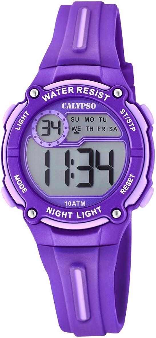 Calypso Reloj Digital para Unisex de Cuarzo con Correa en Plástico K6068/2