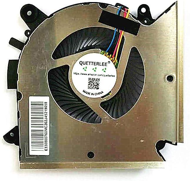 QUETTERLEE Replacement New CPU Cooling Fan for MSI GF63 Thin GF63 Thin 9RCX-818 9SC-066 8SC-030 GF65 Thin 9SD-004 9SEXR-250 9SD-252 9SEXR-249 9SD-251 9SE-013 Series PABD08008SH N413 CPU Fan