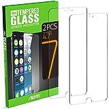 "iPhone 7 Protector de Pantalla, Aerb 2-Pack Vidrio Templado Protector de Pantalla para iPhone 7 4.7"""