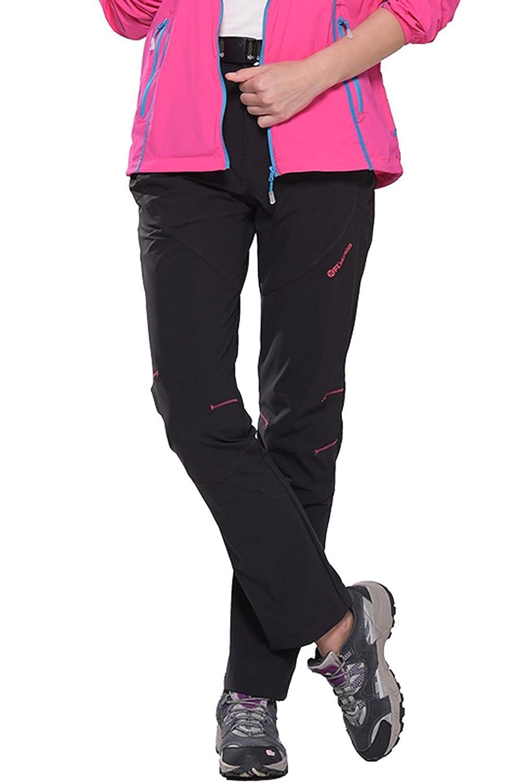 HAINES Pantalon Trekking Mujer Pantalones de Secado Rápido Pantalones Outdoor de Verano Pantalón para Montaña