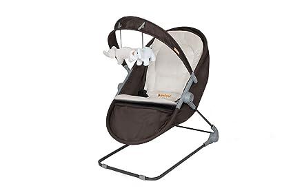 baninni Nina Zeno silla mecedora marrón: Amazon.es: Bebé