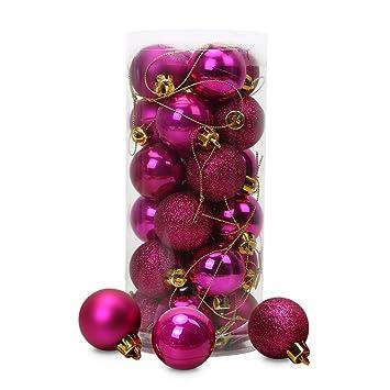 Christbaumkugeln Rosa.Christbaumkugeln Rosa Pink Weihnachten In Europa