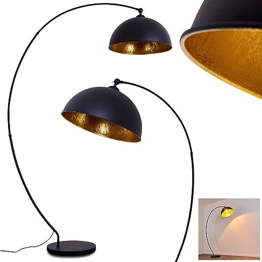 LED Vintage Stehlampe messing rost Spots schwenkbar Wohnraumleuchte Industrial