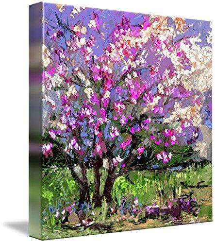 Wall Art Print Tulip Magnolia Modern Impressionist Art
