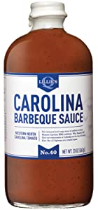 Lillie's Q - Carolina Barbeque Sauce, Gourmet Carolina Sauce, Tangy BBQ Sauce with Tomato Vinegar, All-Natural Ingredients, Made with Gluten-Free Ingredients (20 oz)