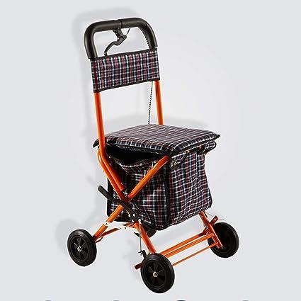 Gt Carrello Della Spesa Carrello Per La Spesa In Acciaio Per Anziani
