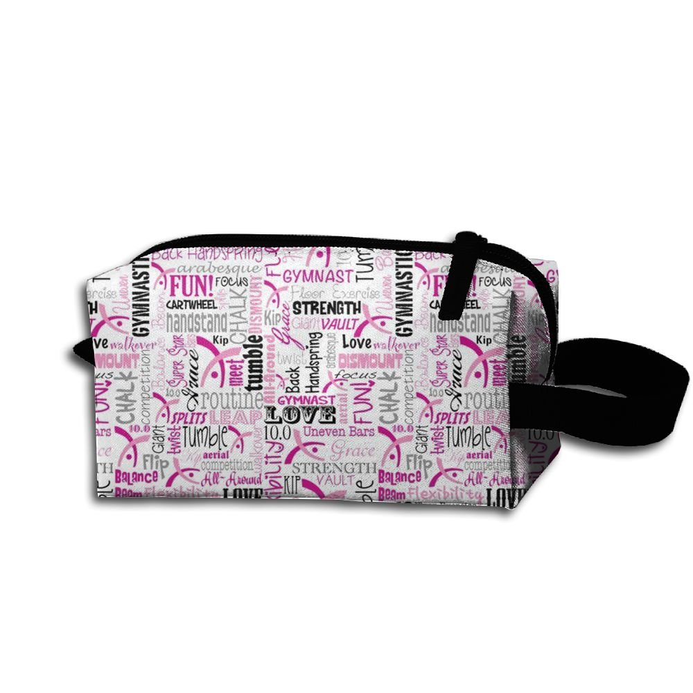 体操コスメティックバッグ – メイクアップオーガナイザー – 軽量化粧品旅行バッグ   B07BLMM4DJ