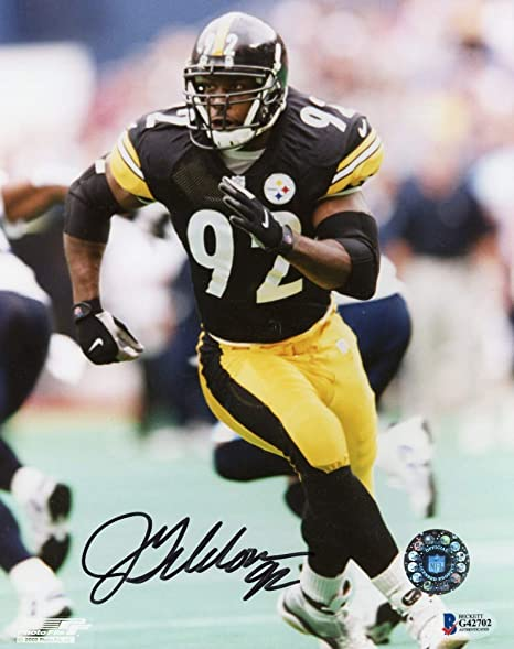 15f9dae3720 Image Unavailable. Image not available for. Color: Jason Gildon Autographed  ...