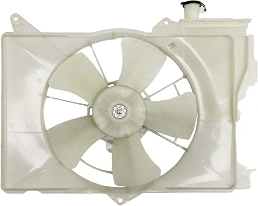 Automotive Cooling Radiator And Condenser Fan For Toyota Echo Scion xA TO3115119 100/% Tested