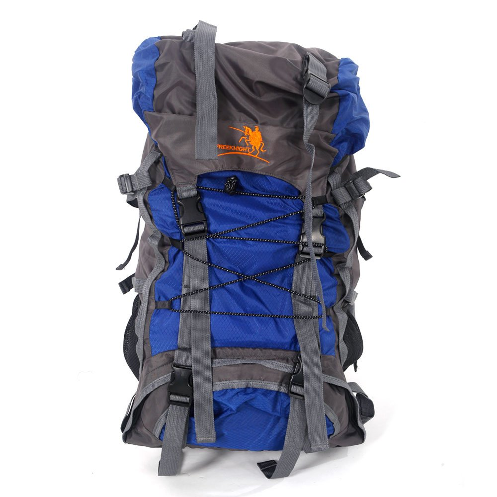 Free Knight SA008 60L Hiking Camping Backpack Outdoor Waterproof Daypack (Blue) by Free Knight