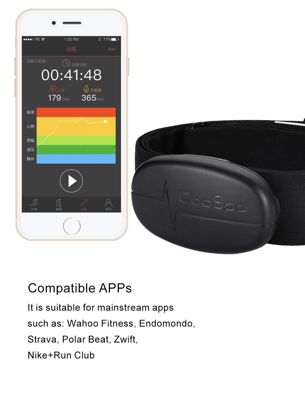 Bluetooth ANT+ Wahoo TICKR Herzfrequenzmesser