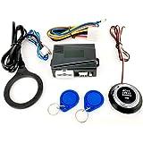 zroven Botón de arranque del motor de automóvil de 12V Botón de arranque de encendido RFID Arranque del motor sin llave…