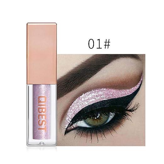 Amazon Com Jinjiums Eyeshadow 15 Colors Metallic Shiny Smoky Eye