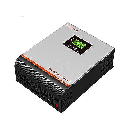 inversor onda pura 3kva (2400w) Regulador 50a cargador 30a ...
