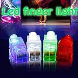 LED LASER FINGER LIGHTS 12 PK FOR CONCERTS/CHILD PARTIES/RAVES/PARTY BAG FILLERS