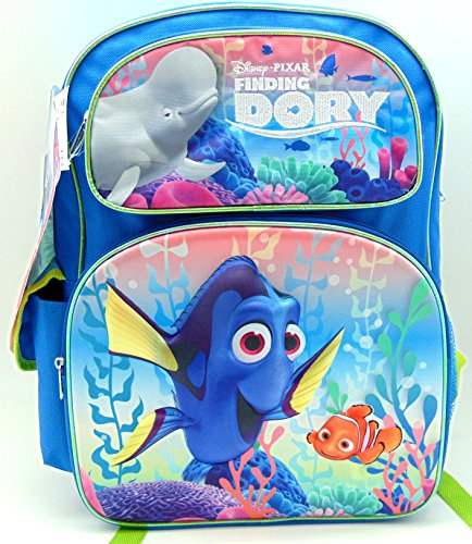 FINDING DORY 3-D LRG. BACKPACK 16'' by Ruz