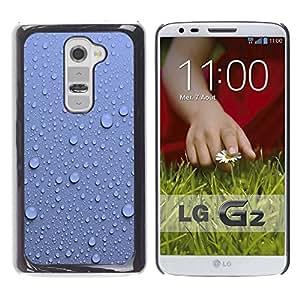 KOKO CASE / LG G2 D800 D802 D802TA D803 VS980 LS980 / motivo / Delgado Negro Plástico caso cubierta Shell Armor Funda Case Cover