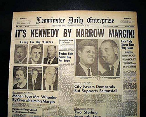 Image result for jfk presidential election 1960
