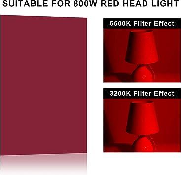 Selens 6 Stück 40 6 X 50 8 Cm Lichtgels Fotolichter Kamera