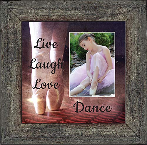 Ballet, Dancer Gifts for Teen Girls or Women, Personalized Dance Picture Frame 10X10 6356BW (Frame Dancer)