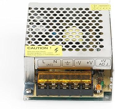 12V 5A Fuente de Alimentación Conmutada,60W Transformador ...