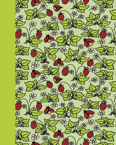 Journal: Ladybugs (Green) 8x10 - LINED JOURNAL - Journal with lined pages - (Diary, Notebook) (Journals for Children Lined Journal Series)
