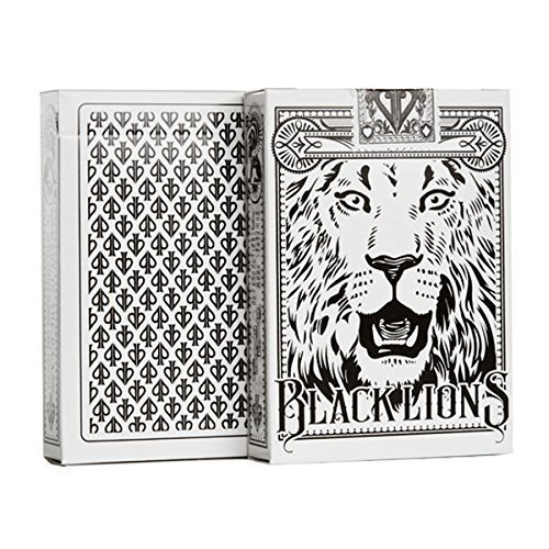 Black And White Cards - David Blaine Black Lions Seconds Playing Cards