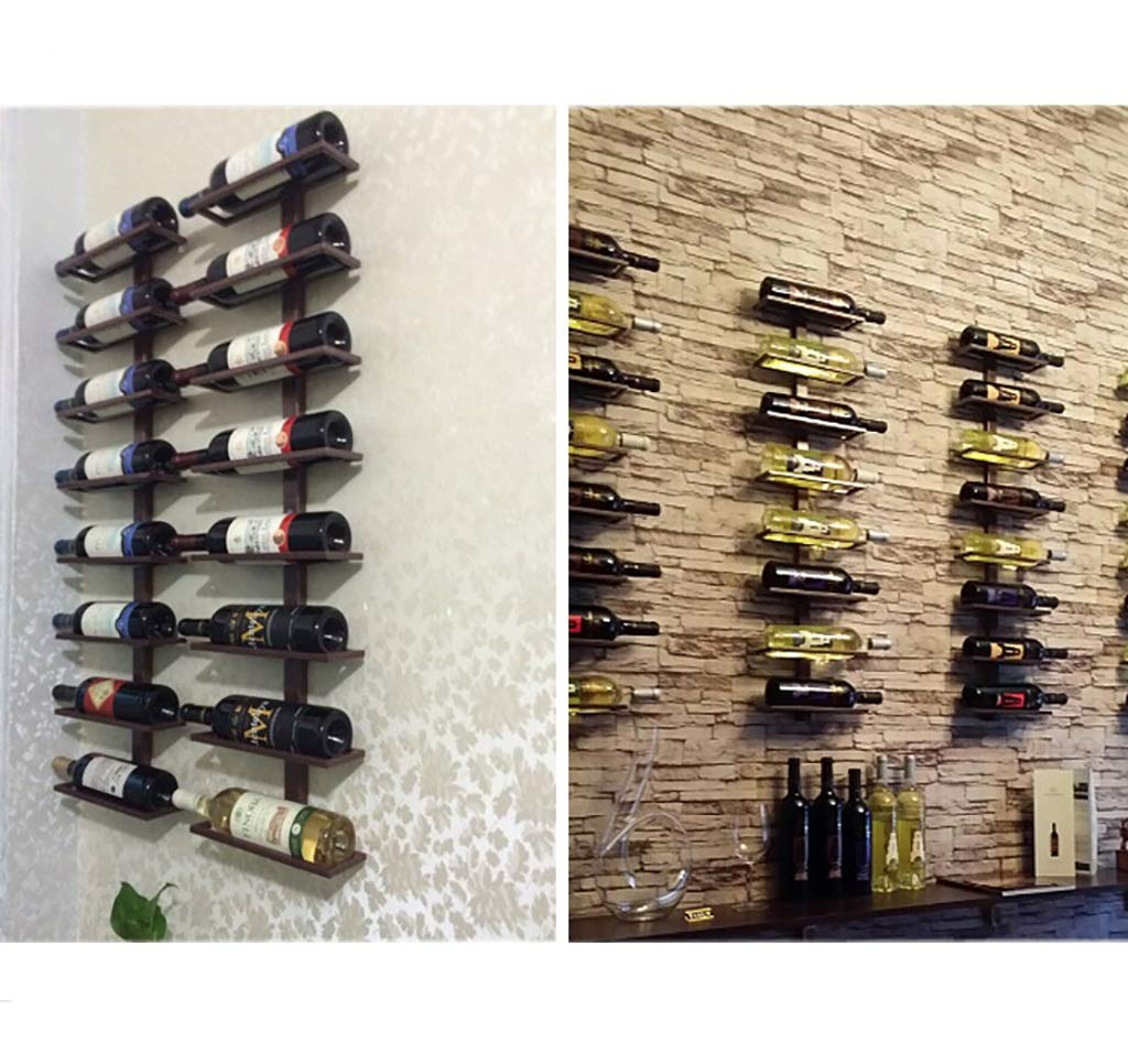 LlJJA Botelleros Portabotellas de Metal para Colocar Colocar Colocar en la Pared Ocho Botellas de 100 cm (Tamaño : 27   10   100CM) 8680d6