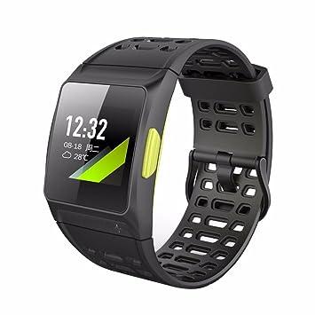 sukeq reloj inteligente, IP68 impermeable GPS integrado de frecuencia cardiaca dormir Monitor salud pulsera Fitness