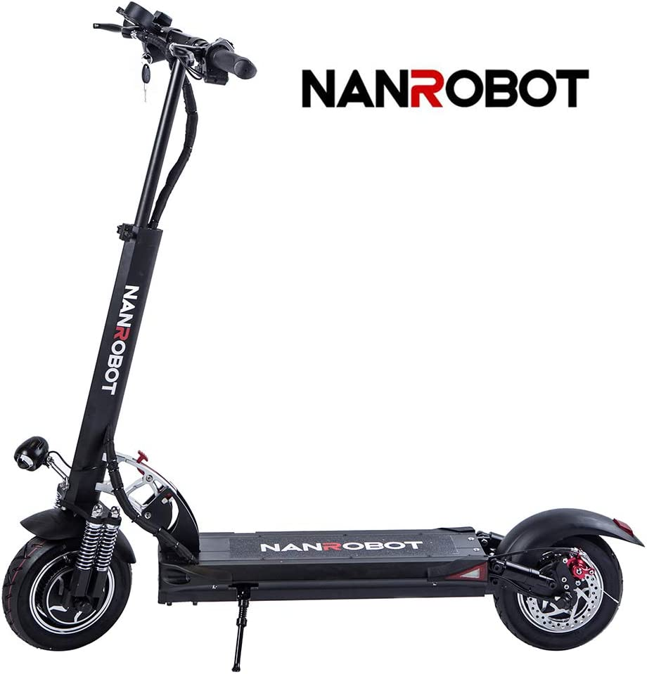 Amazon.com: FEVERUP NANROBOT D5+ Potente patinete eléctrico ...