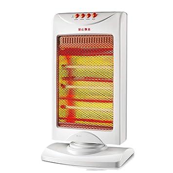 Calentador Vertical sacudir la Cabeza Ahorro de energía hogar Oficina tostadora Estufa Calentador eléctrico Blanco: Amazon.es: Hogar