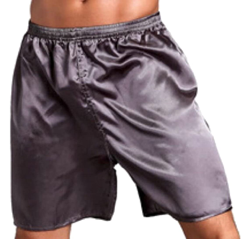 Yayu Men Fashion Soft Poplin Pajama Sleep Jam Cargo Short Lounge Pants