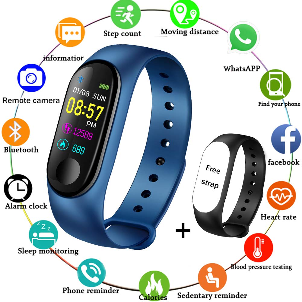Amazon.com: LIGE Fitness Trackers,Color Screen Impermeable ...