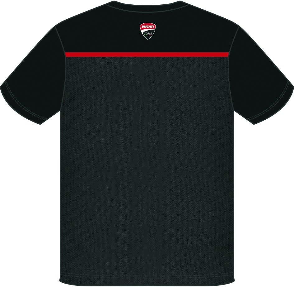 Talla S Ducati Camiseta para Hombre Pritelli 1836005//S Ducati Corse Color Negro