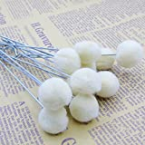 50 Packs Wool Daubers Ball Brush Leather Dye Tool