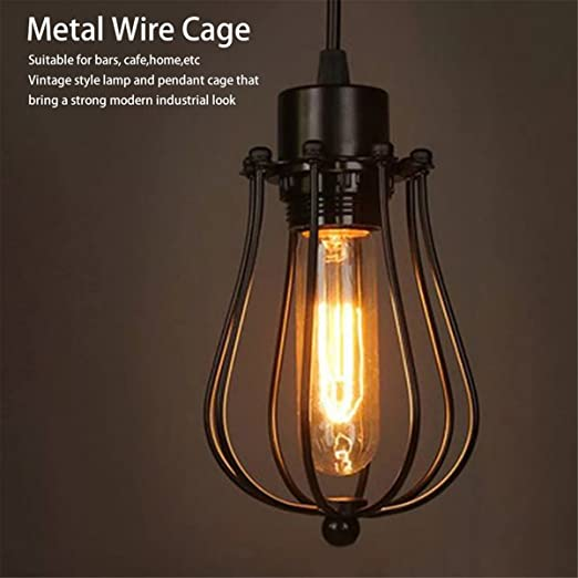 gugutogo Industrial Vintage antiguo lámpara couvre colgante lustre ...