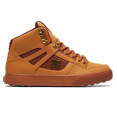 DC Shoes Pure High WC WNT - Chaussures Montantes - Homme - EU 38.5 - Marron cff3782763e0