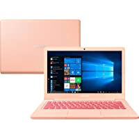 "Notebook Samsung Flash F30 Intel Celeron , 4GB RAM, 64GB SSD , Tela Full HD 13.3"", Windows 10 - Rosa"