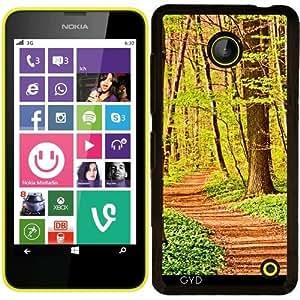 Funda para Nokia Lumia 630 - Sinuoso Camino De Bosque by PINO