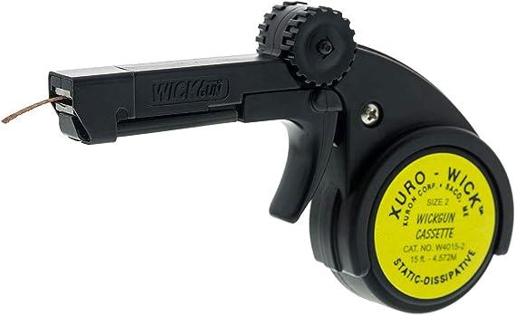 Replacement Cassette for WickGun Desoldering Braid Dispenser #2 Xuron W4015-2