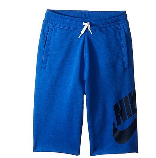 0d622a5111 Amazon.com: NIKE Boys French Terry Alumni Lifestyle Shorts #728206 ...