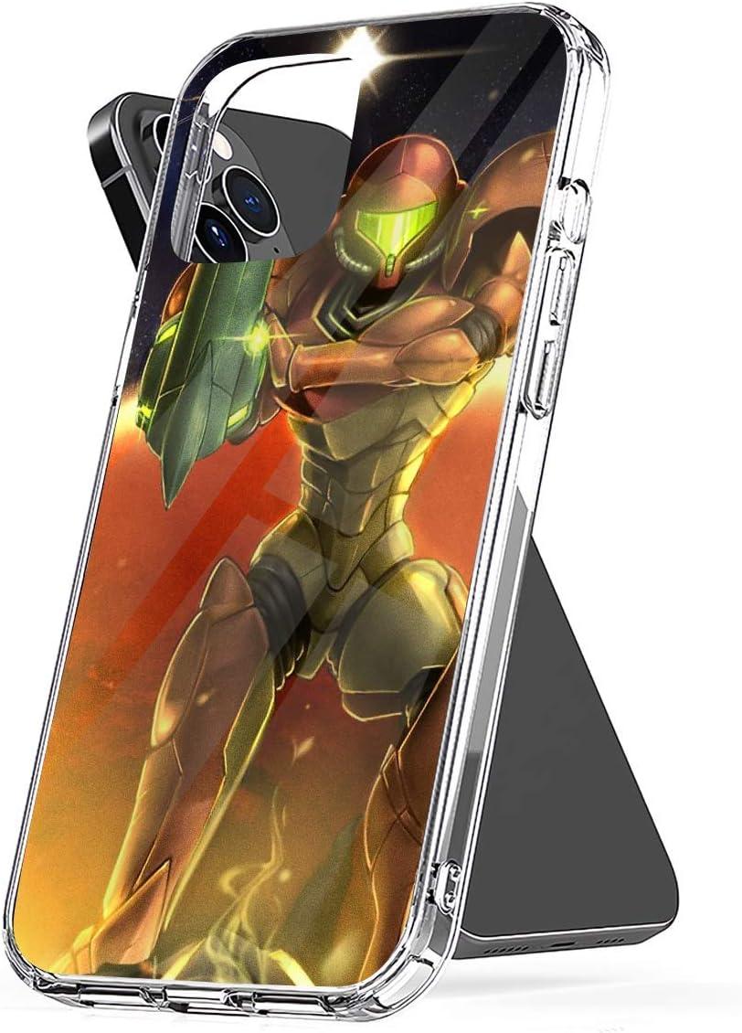 Phone Case Metroid 30th Anniversary - Samus Aran Compatible with iPhone 6 6s 7 8 X XS XR 11 Pro Max SE 2020 Samsung Galaxy Bumper Scratch Charm