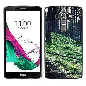 For LG G4 - Plant Nature Forrest Flower 56 /Caja protectora de pl???¡¯????stico duro de la cubierta Dise???¡¯???¡Ào Slim Fit/ - Super Marley Shop -
