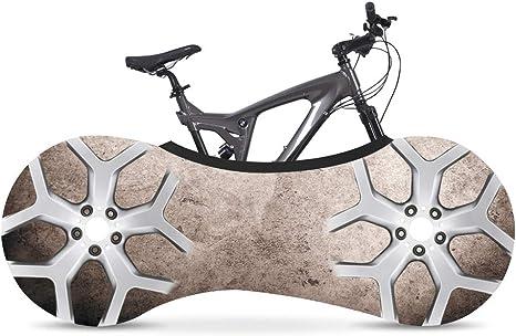 YXZN Cubierta de Almacenamiento Interior para Bicicleta Cubierta de Bicicleta de montaña para Interior Cubierta de Almacenamiento de Bicicleta Se Adapta al 99% de ...