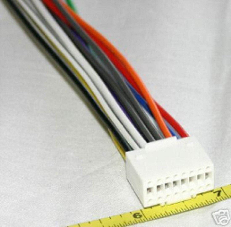 amazon com alpine 16 pin wire harness white plug ships from Strapper Wire amazon com alpine 16 pin wire harness white plug ships from california car electronics