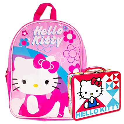 Image Unavailable. Image not available for. Color  Hello Kitty Preschool  Backpack Toddler ... 282f63ebcd27b