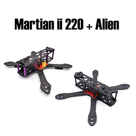 Amazon.com: Reptile Martian II 220mm and Alien FPV quadcopter pure ...