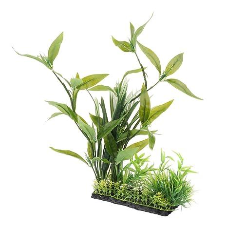 D DOLITY Planta de Plástico Complimentos Pecera Adornos Decoración Ornamento Duradero - Estilo 2